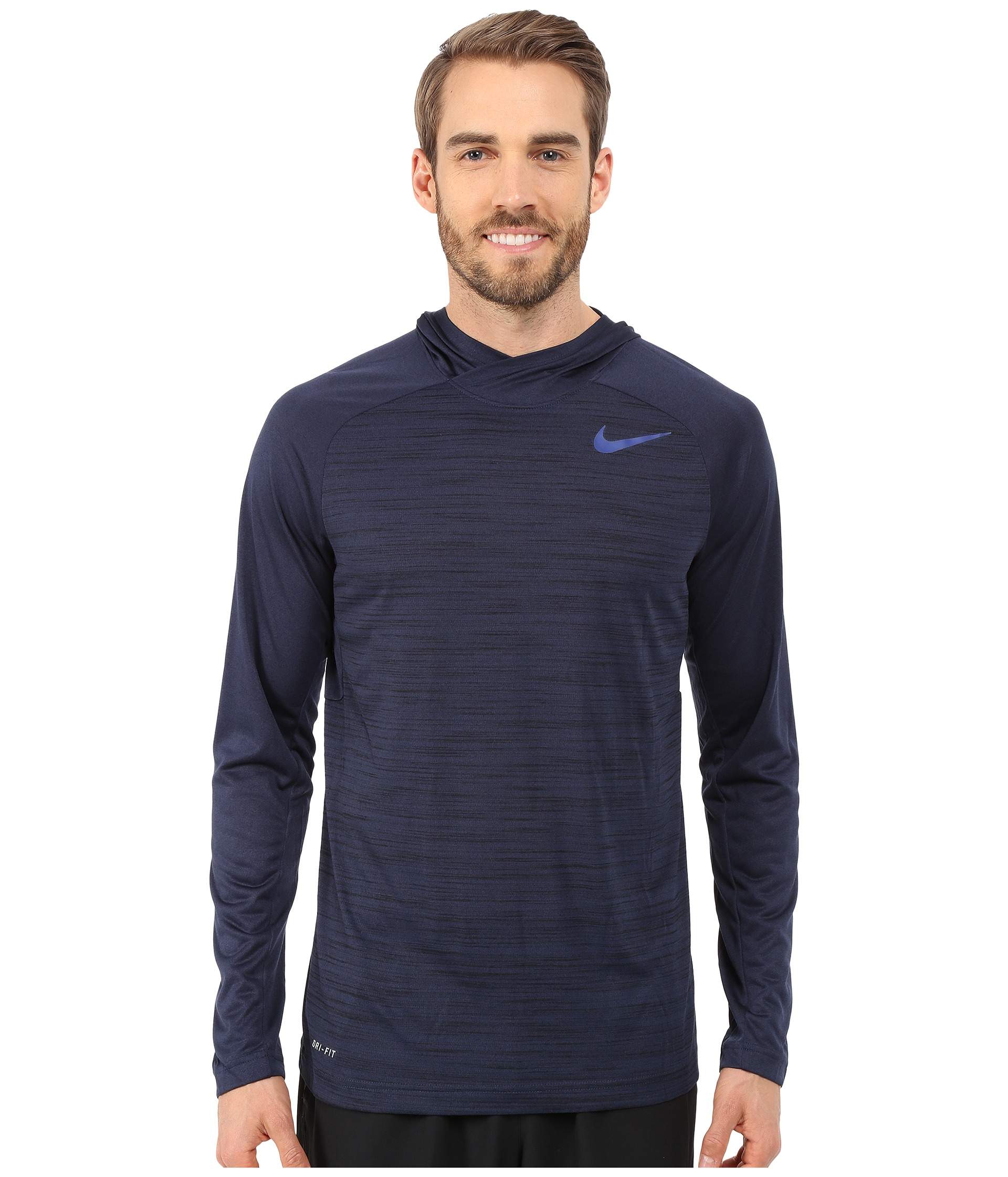 21a8f970 Nike Mens Dri Fit Touch Hooded Long Sleeve Shirt - DREAMWORKS