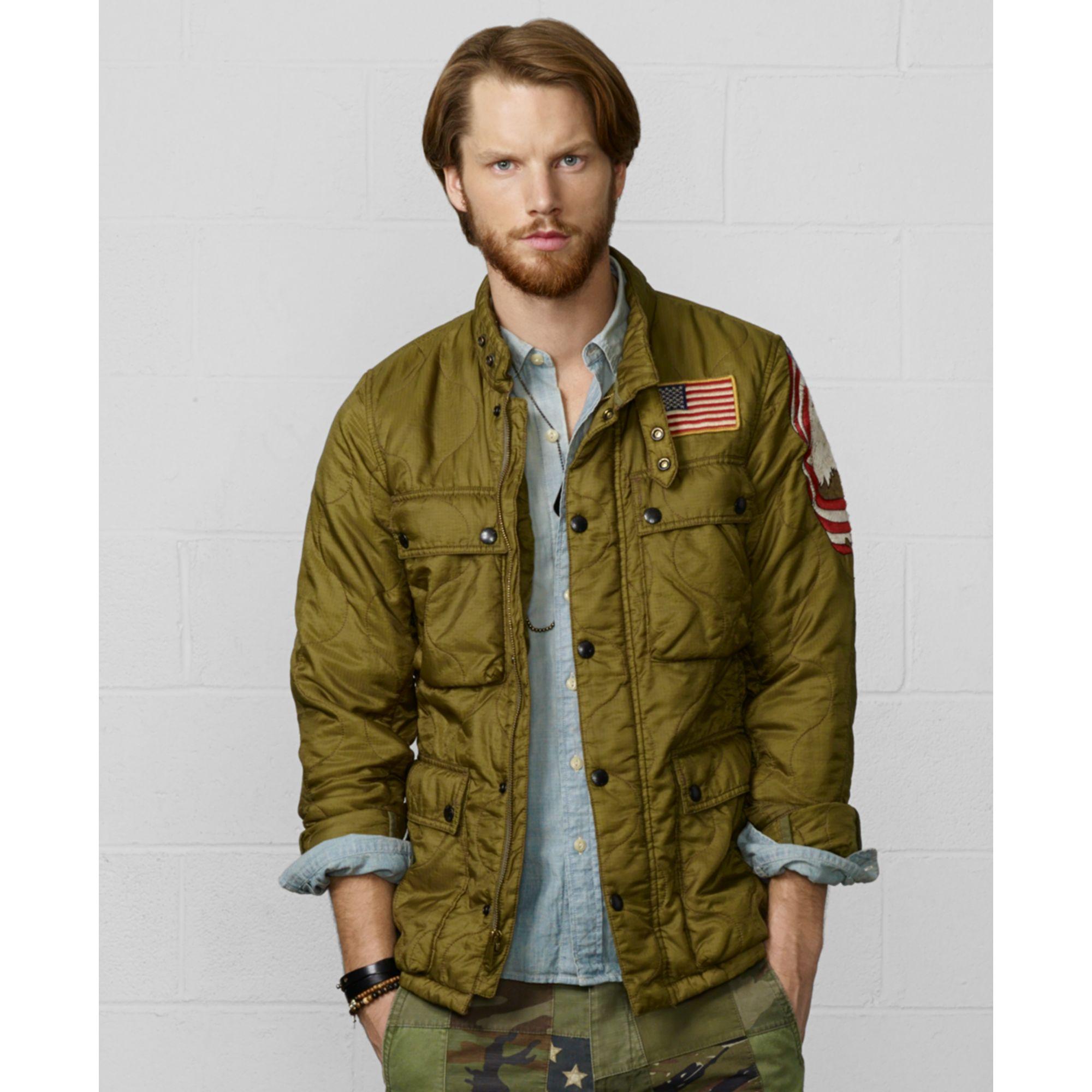 c548fedfb08bb Denim & Supply Ralph Lauren Motorcycle Liner Jacket in Natural for ...
