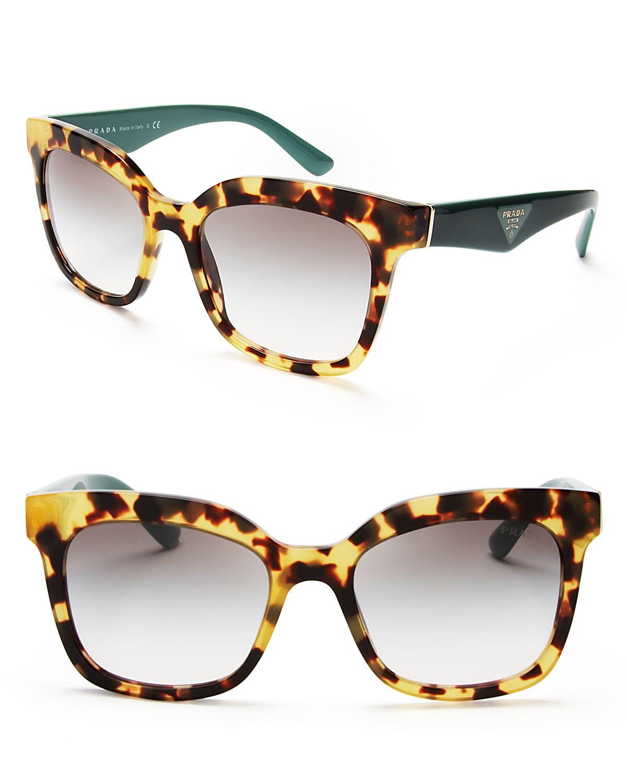 03d95c8fd868 Prada Heritage Square Sunglasses - Lyst