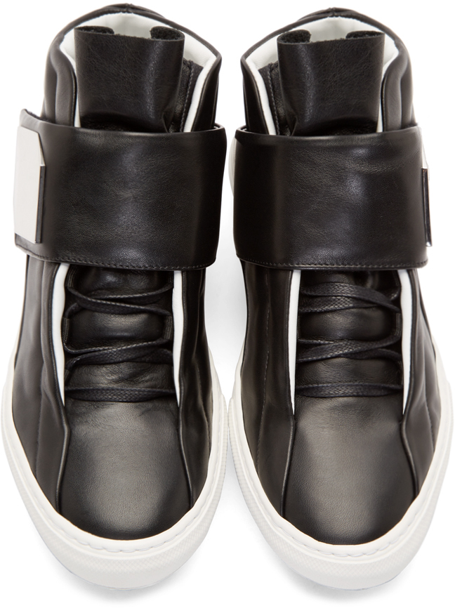 Pierre Hardy Patent Leather Trainers