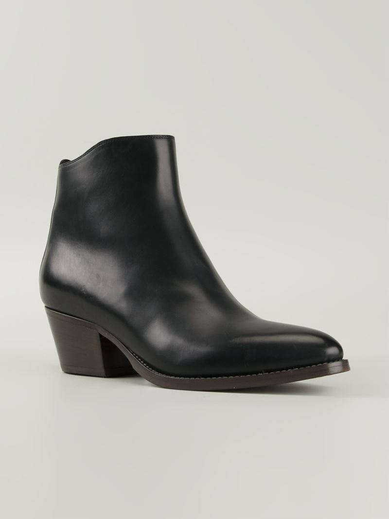 SARTORE Buckled ankle boots Scon4