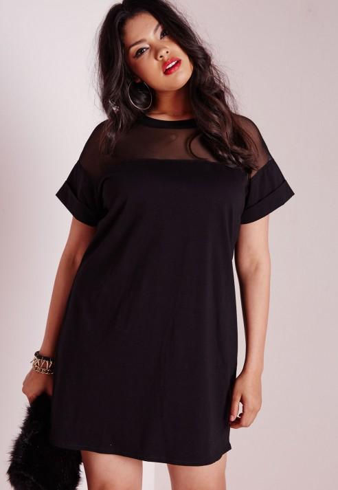 Women Black Dress Shirt