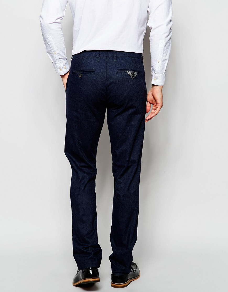 Slim Fit Checked Trousers Ted Baker Free Shipping With Paypal Release Dates For Sale QAnEL0qPq