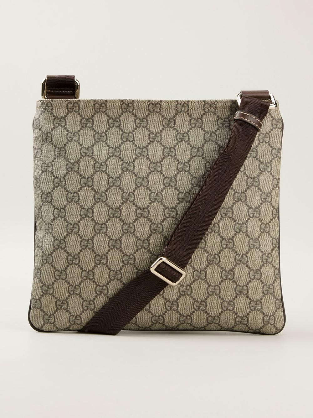 efe16c17c9d Lyst - Gucci Monogram Crossbody Bag for Men