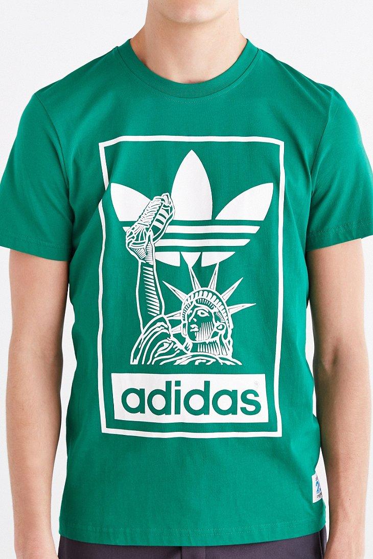 6f868180126 adidas Originals X Nigo 25 Nyc Tee in Green for Men - Lyst