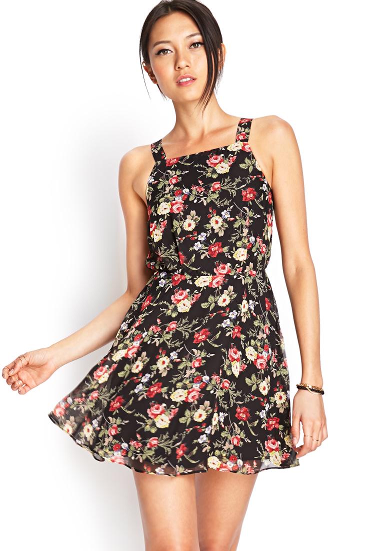 sparkly dresses forever 21 floral dress