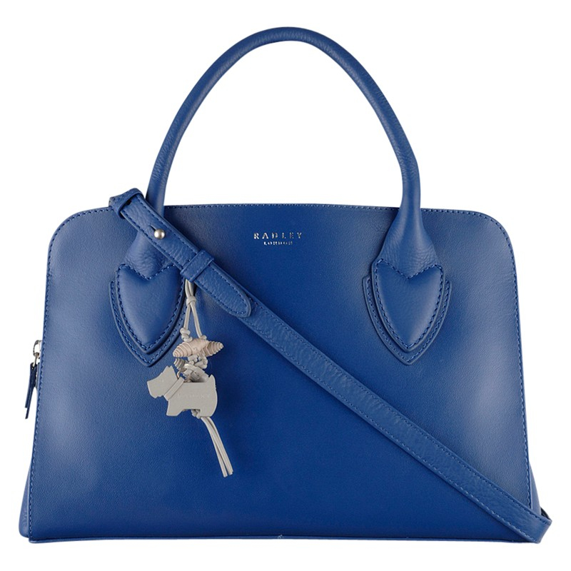 Radley Aldgate Medium Multiway Leather Shoulder Bag in Blue