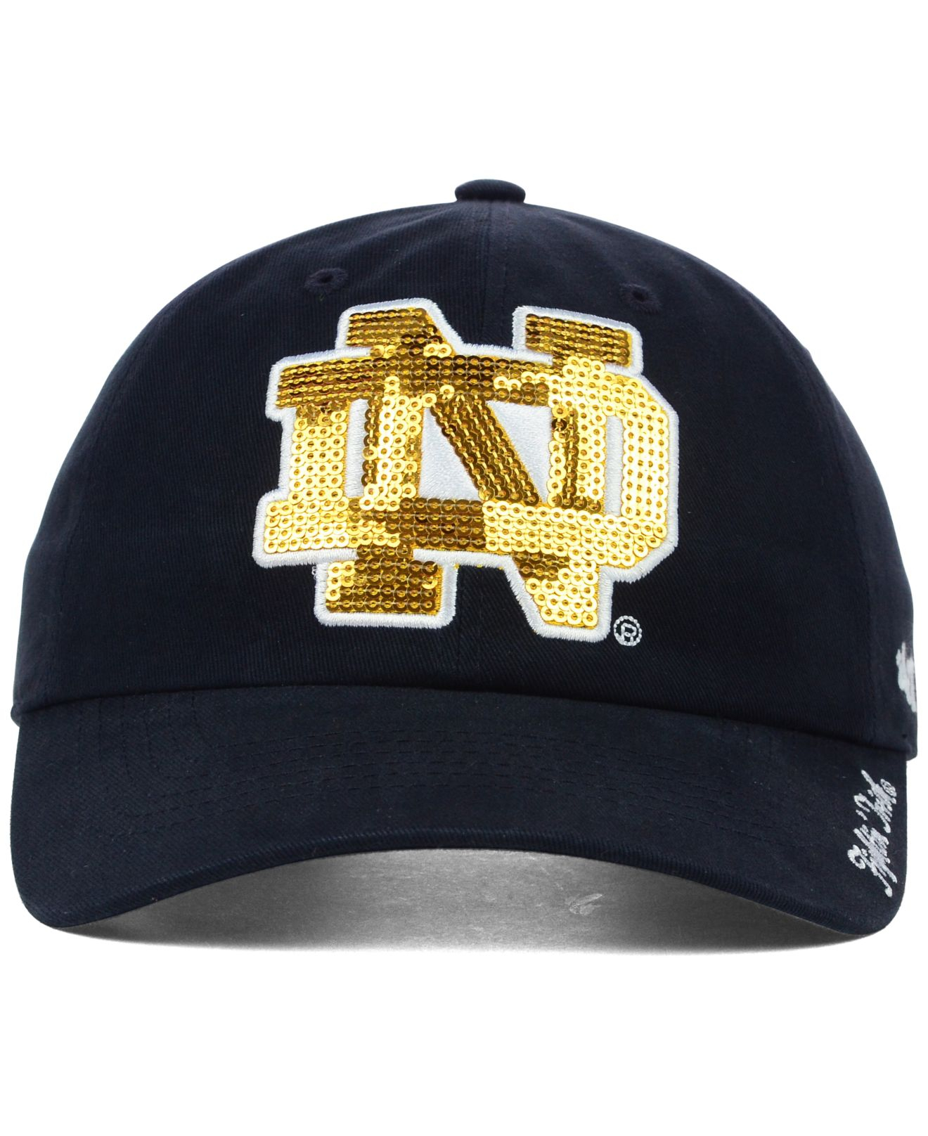 Lyst - 47 Brand Women s Notre Dame Fighting Irish Natalie Sparkle ... 18c3a6d9149
