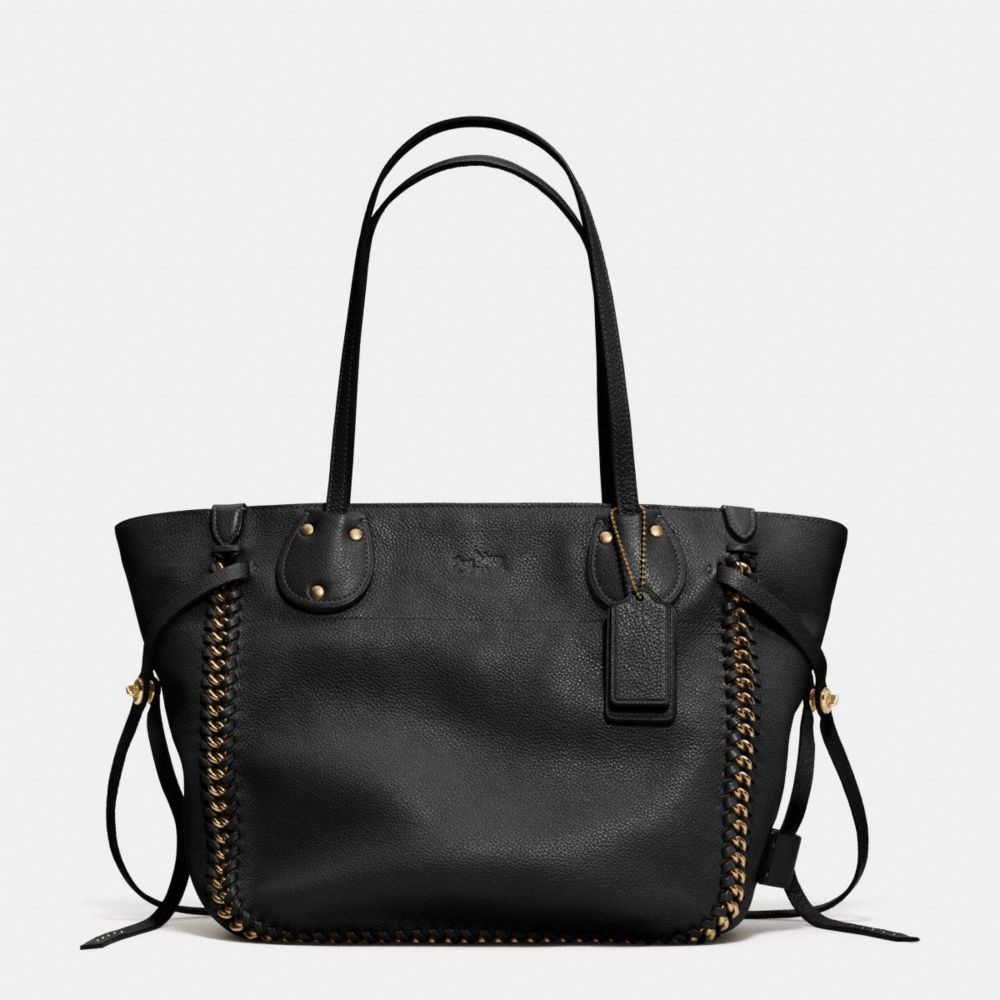 42281486a1 australia coach edie shoulder bag in pebble leather light gold nude 83b29  c3e58  france lyst coach tatum tote in whiplash leather in black b21f9 3aa29