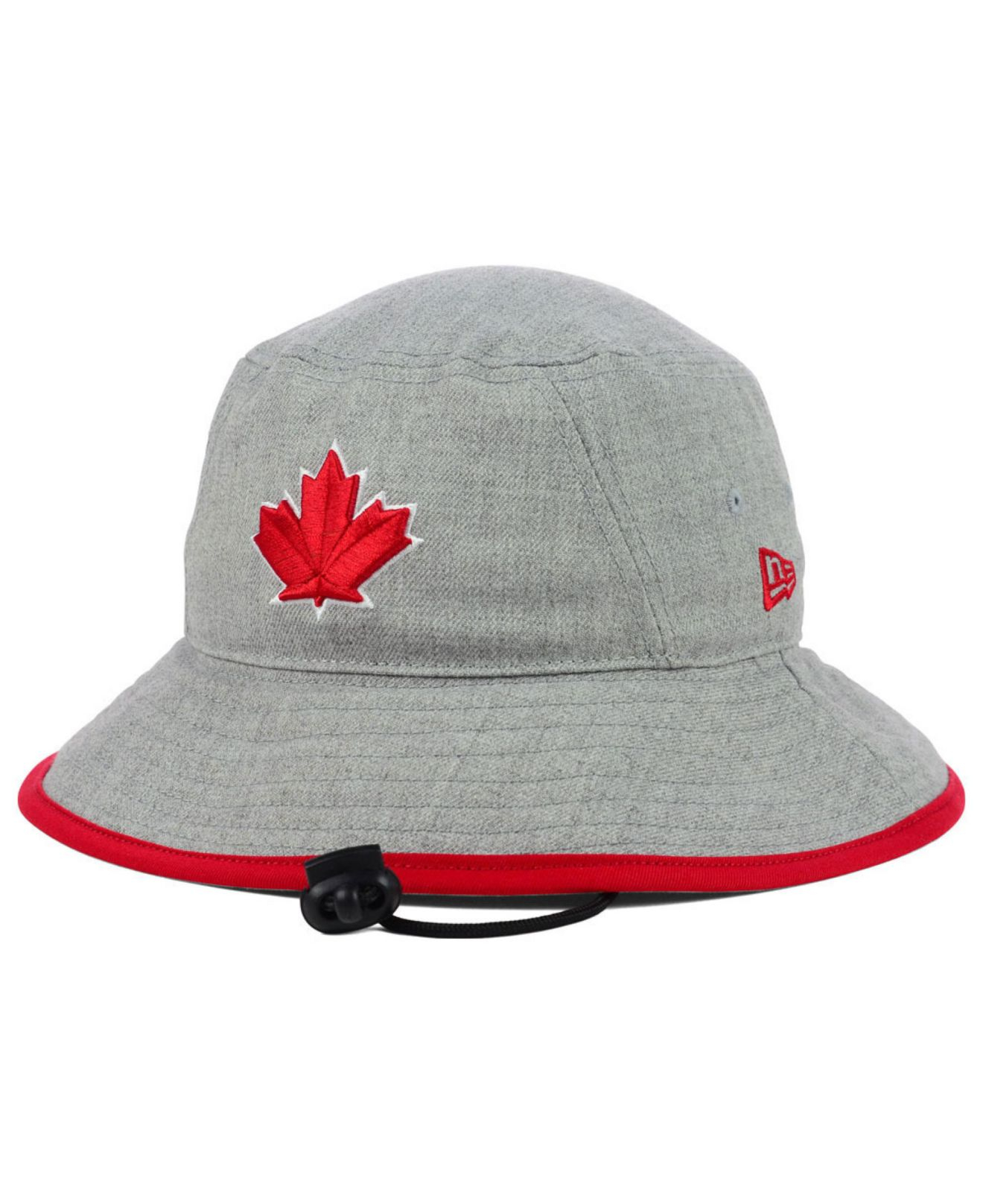 f2aa39d1c5c ... denmark lyst ktz toronto blue jays heather tipped bucket hat in gray  for men e1ad7 506c4