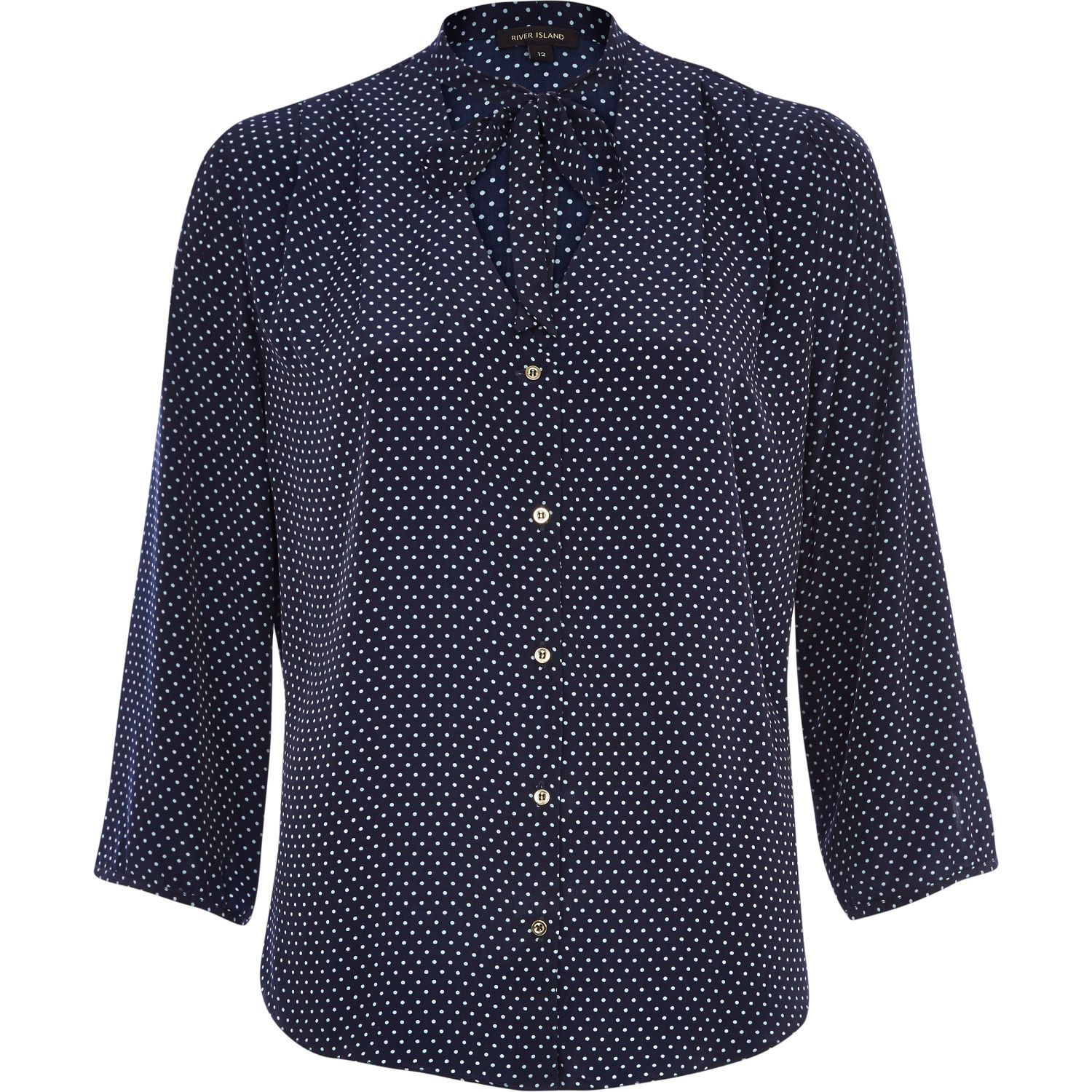 River Island Polka Dot Blouse