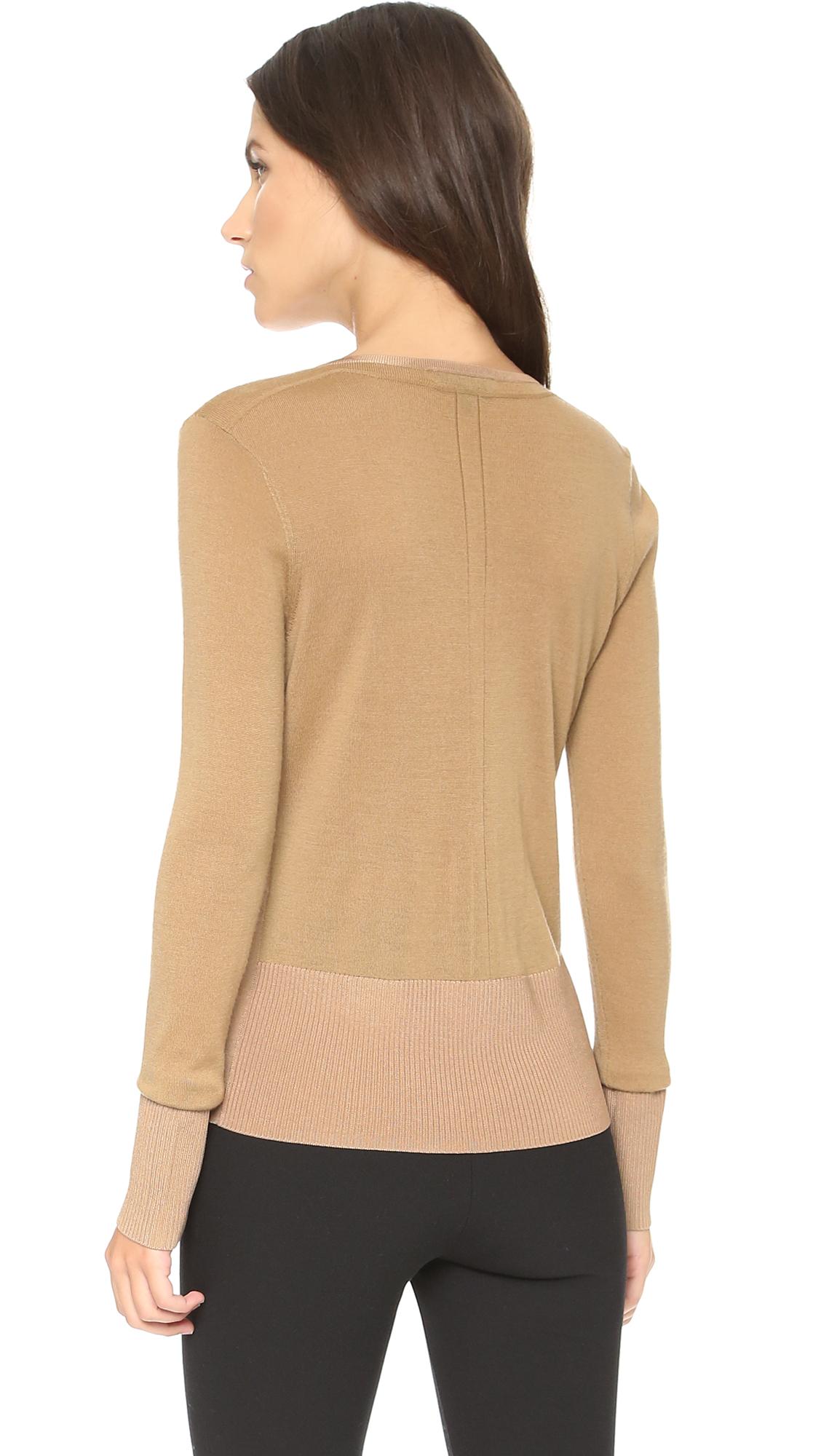 Cotton Cashmere Sweater Womens