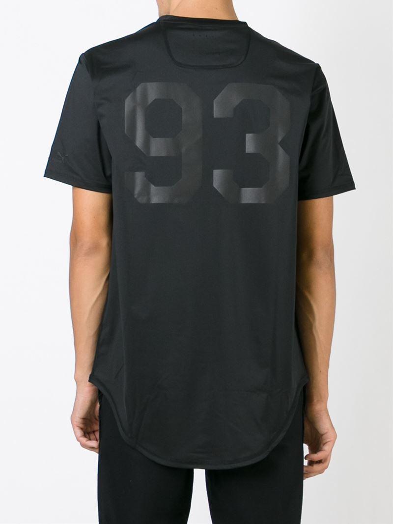Puma Round Neck T Shirt In Black For Men Lyst