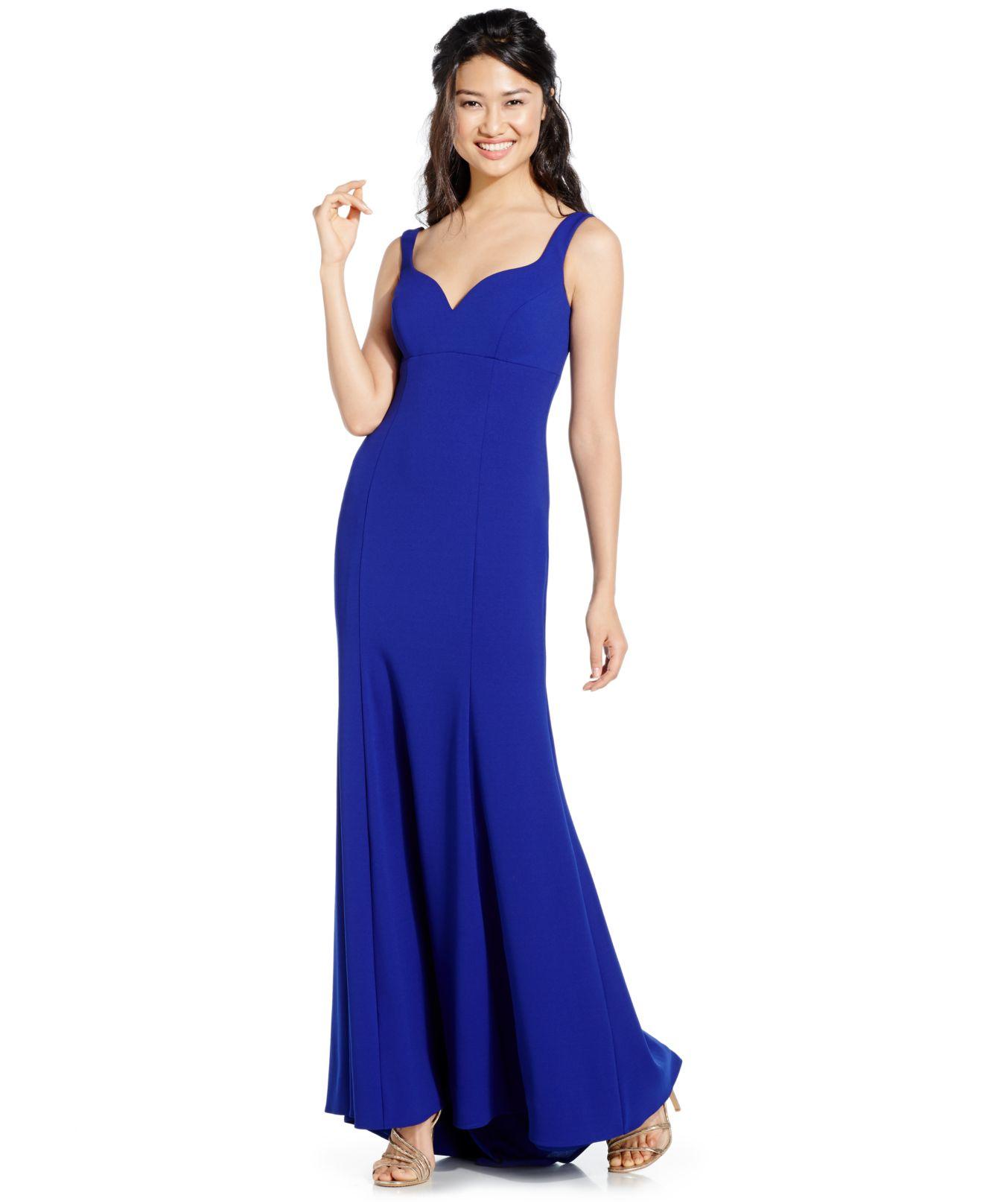 Xscape Sleeveless Gown in Purple  Lyst