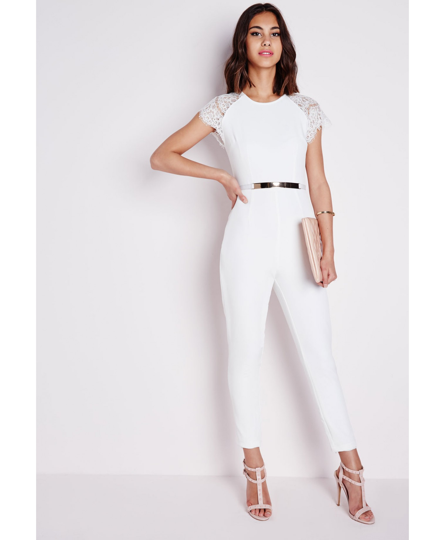 White Jumpsuit | Gommap Blog