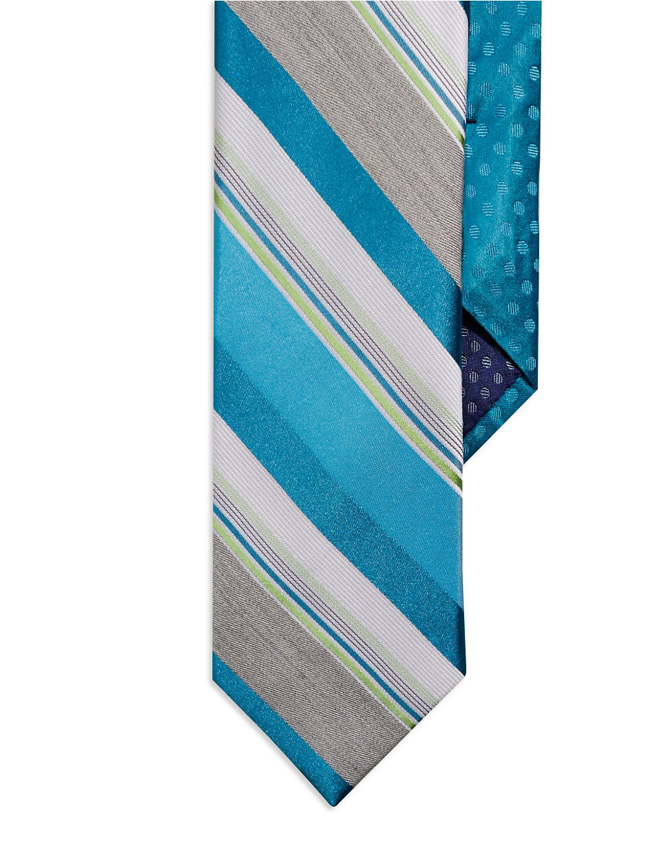 3200043c22 Lyst - Perry Ellis Striped Tie in Blue for Men
