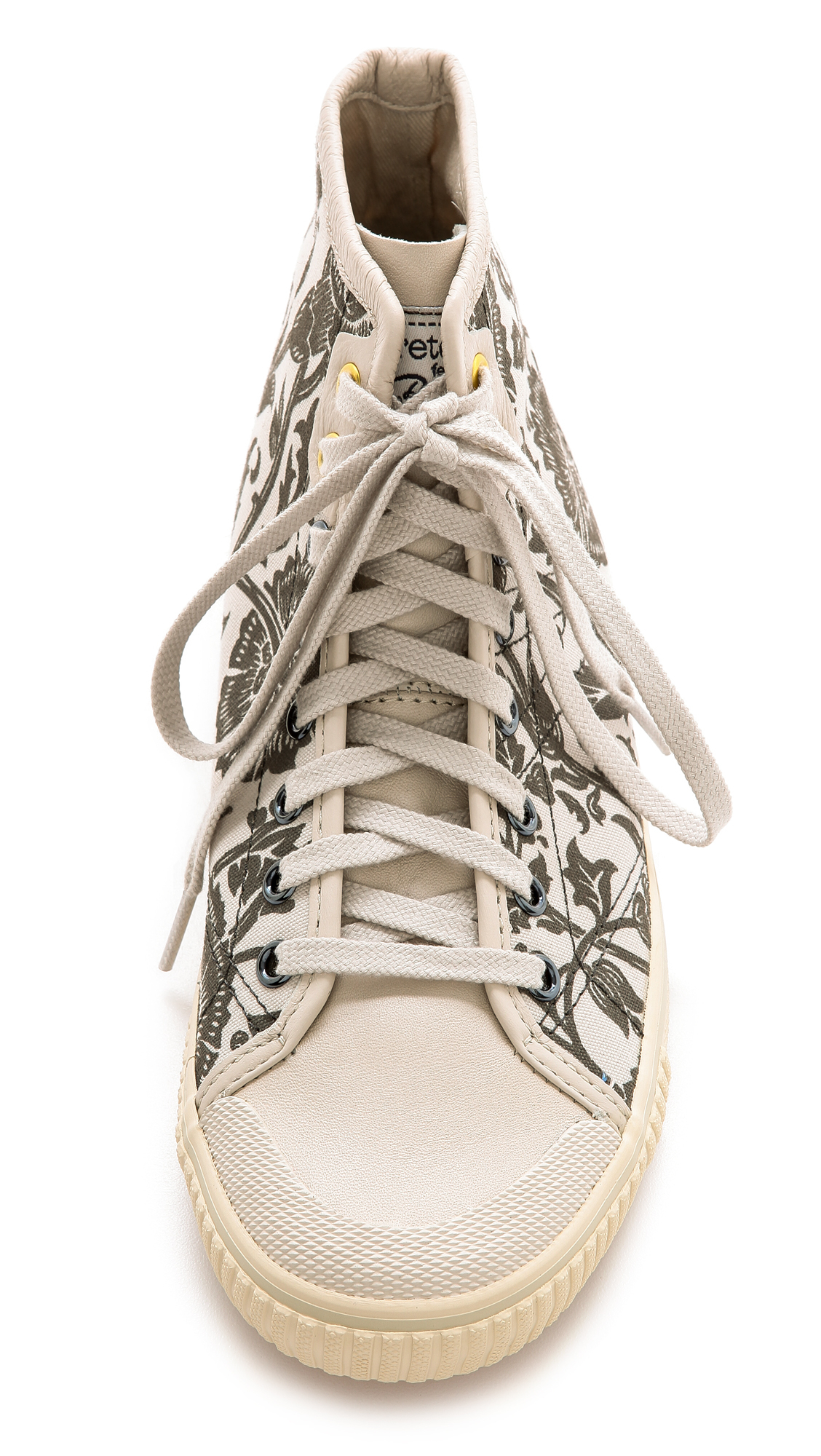 Tretorn Seksti William Morris High Top Sneakers Moonbeam