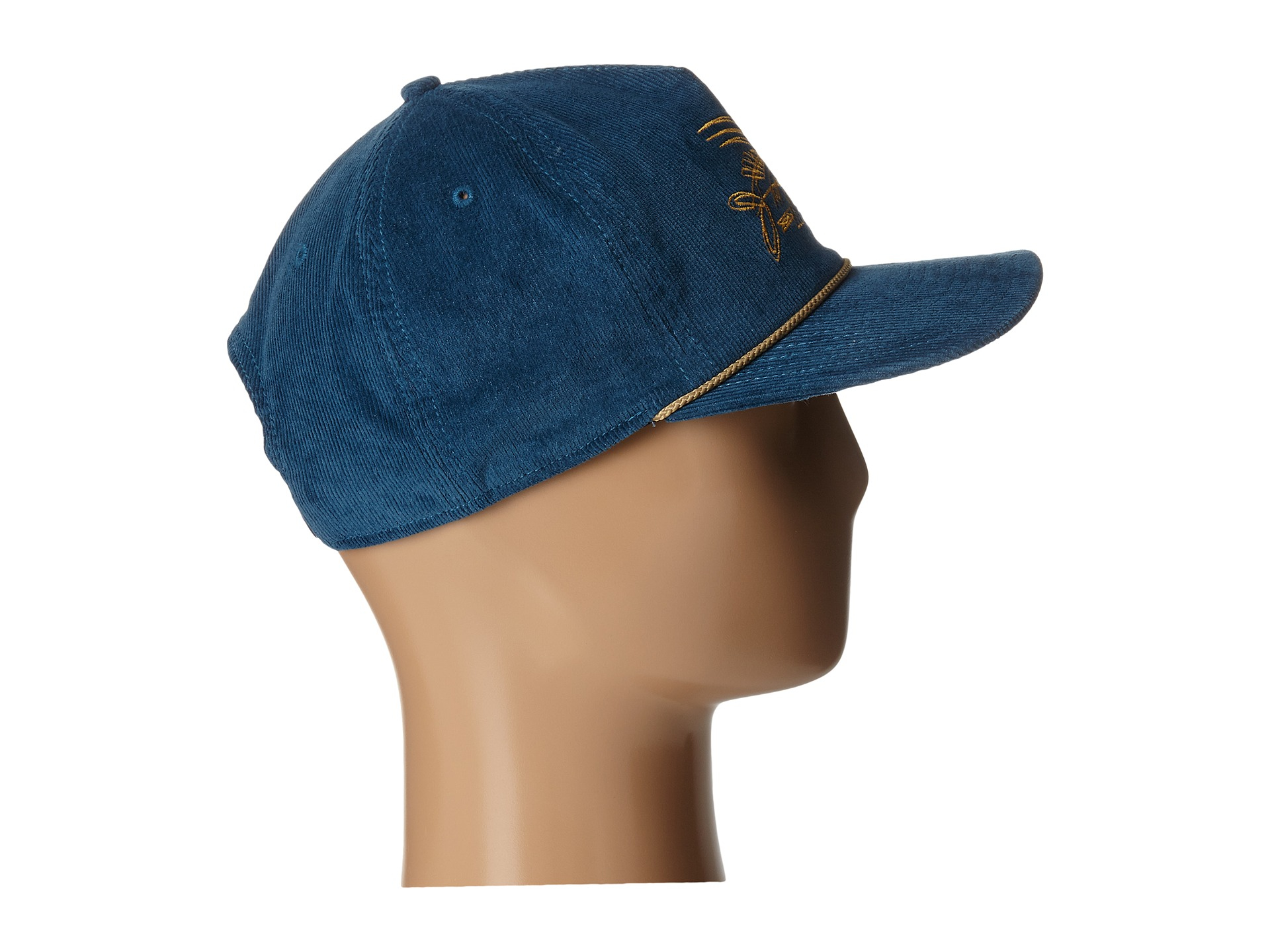 92274f990b2 Lyst - Patagonia Pinstripe Flying Fish Corduroy Hat in Blue