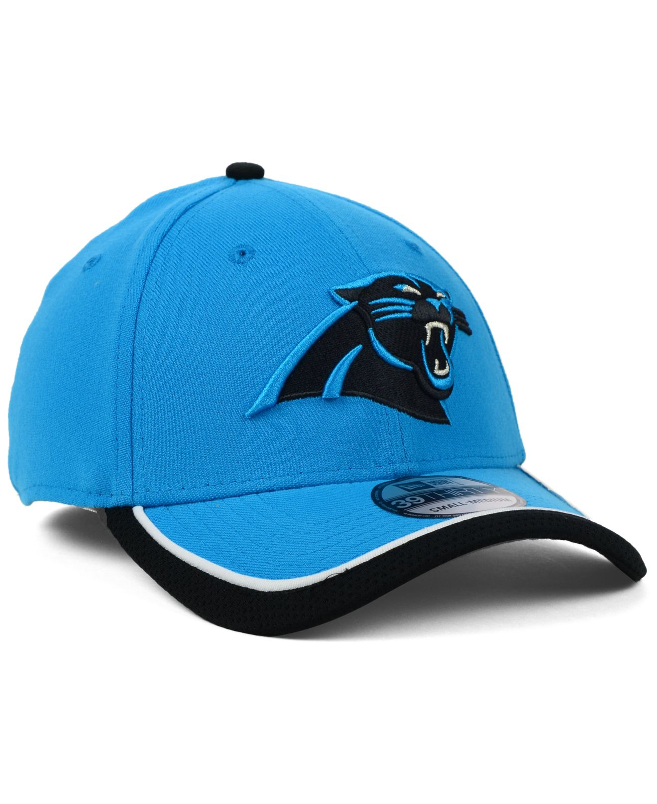 ... discount lyst ktz carolina panthers on field rev 39thirty cap in blue  for men be466 d8573 469d7c71f