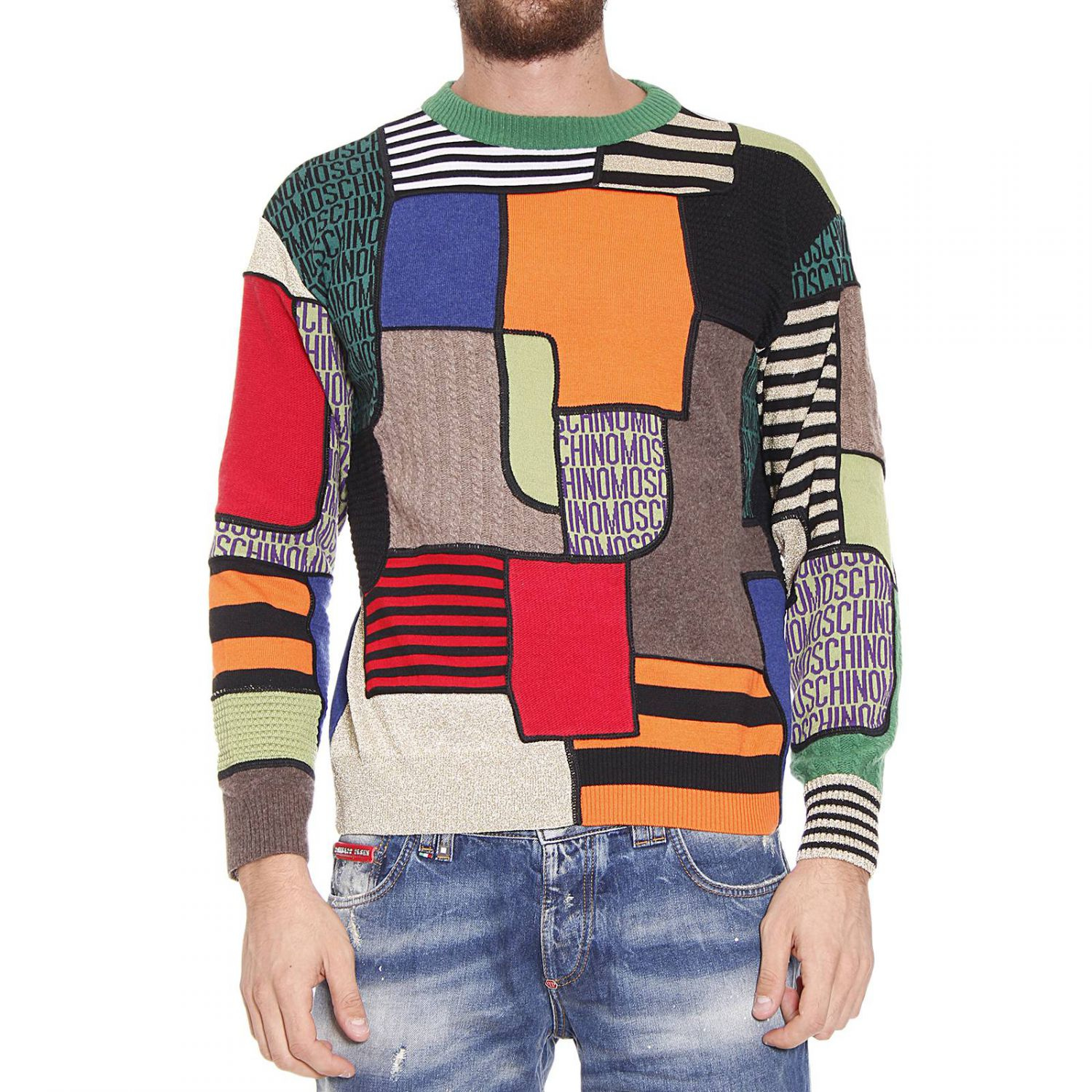 Moschino Sweater For Men Lyst