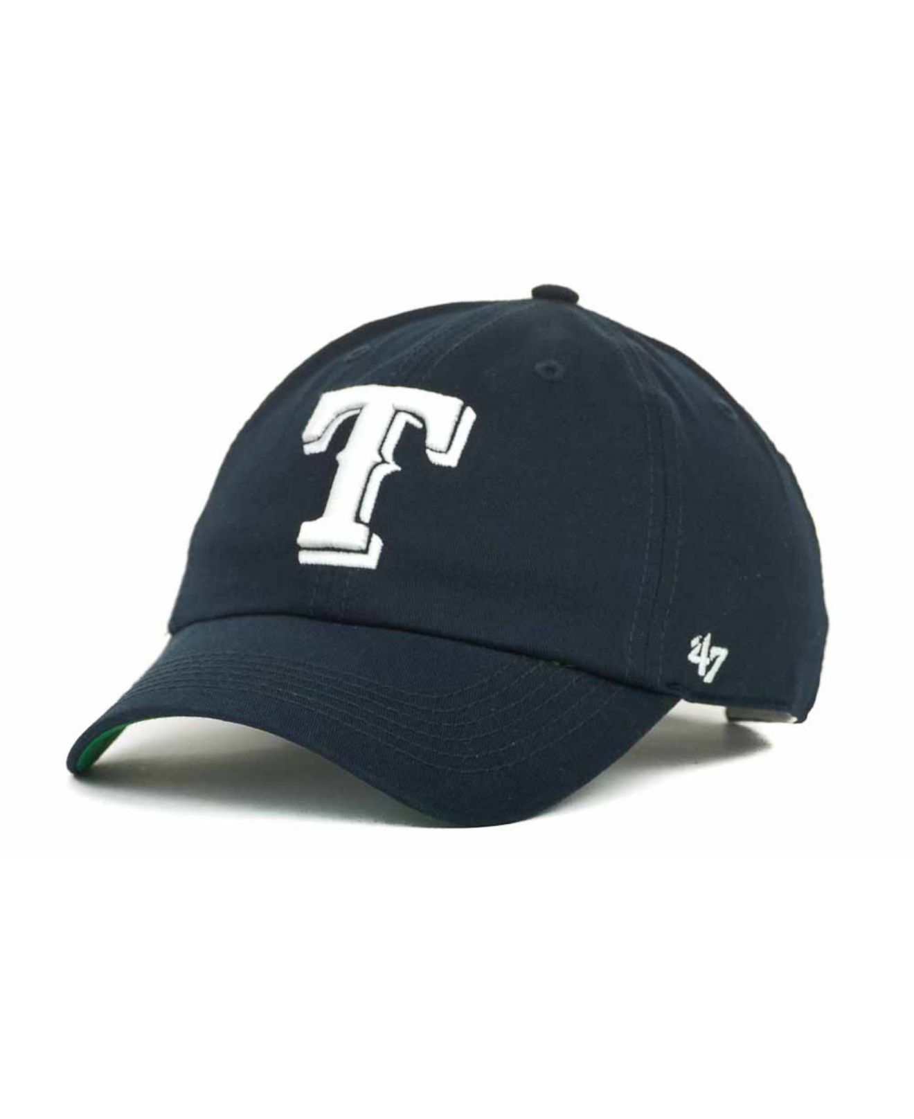 91465aefc65 clearance lyst 47 brand texas rangers bergen ii cap in blue for men a7f47  e1180