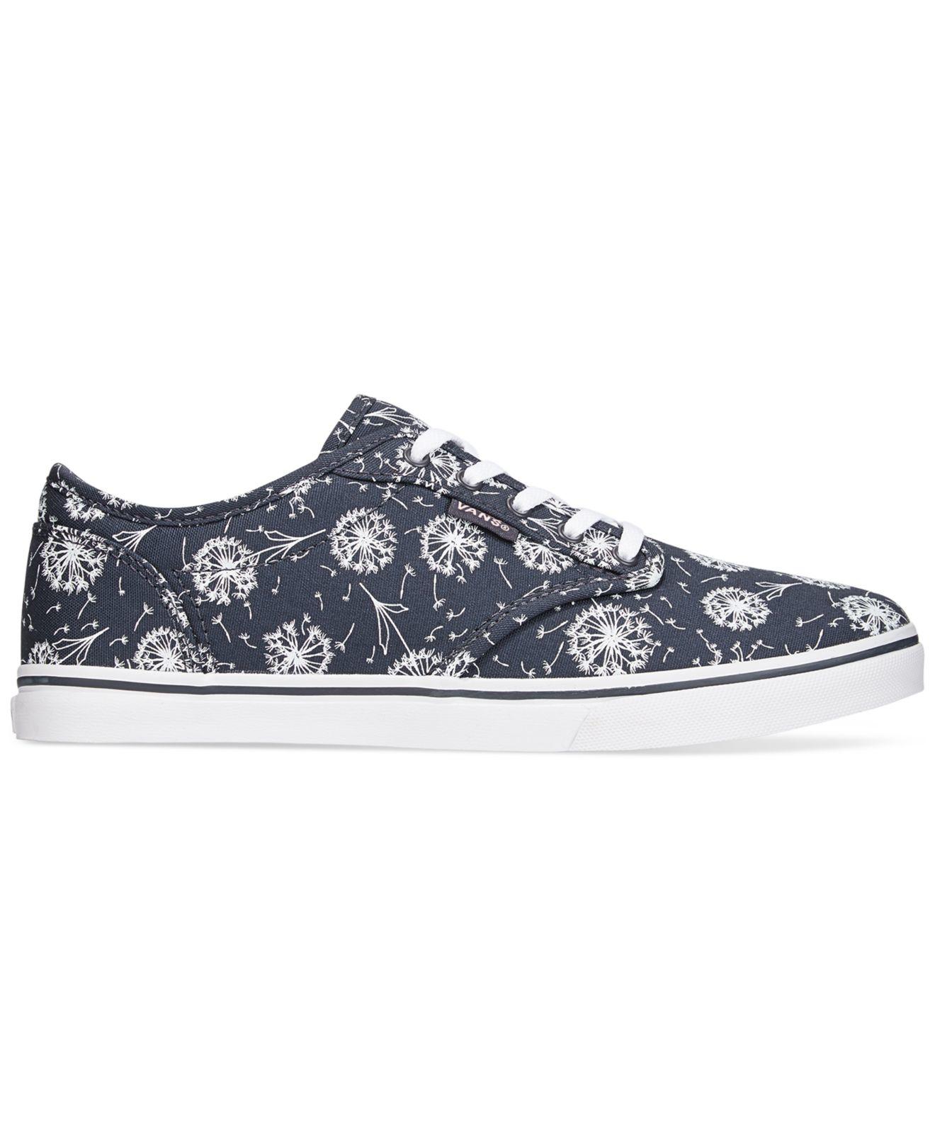 Lyst Vans Women S Atwood Low Dandelion Lace Up Sneakers