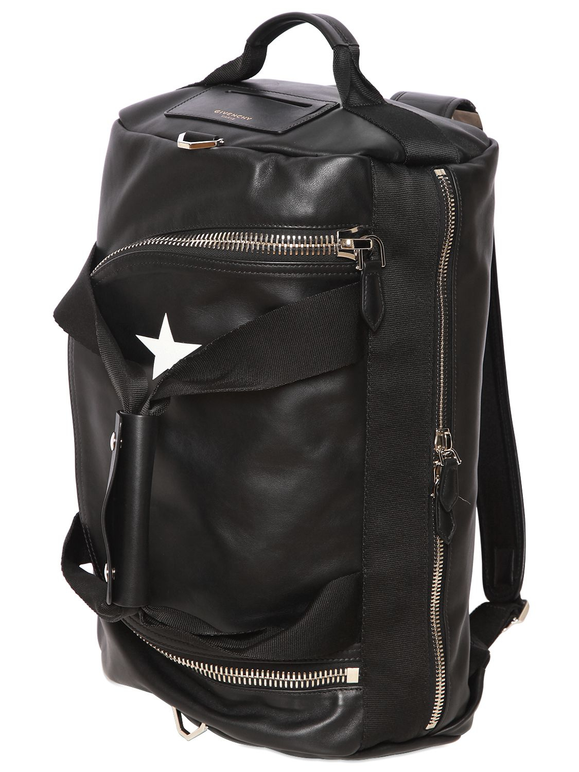 Lyst Givenchy Star Printed Leather Backpack In Black For Men
