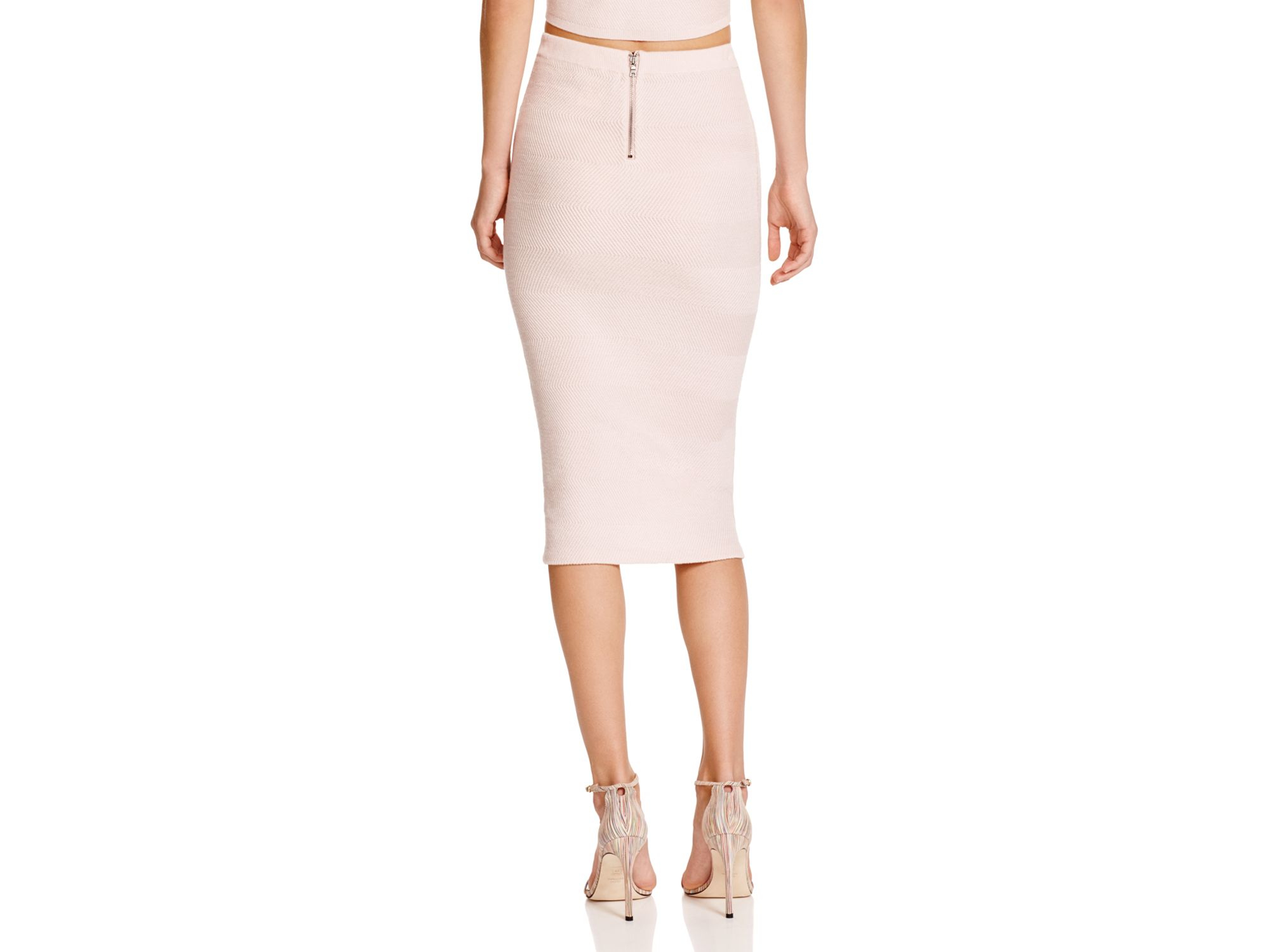 Choice Cheap Price Footaction For Sale Alice + Olivia Knit Knee-Length Skirt Looking For Sale Online wHLouTex1m