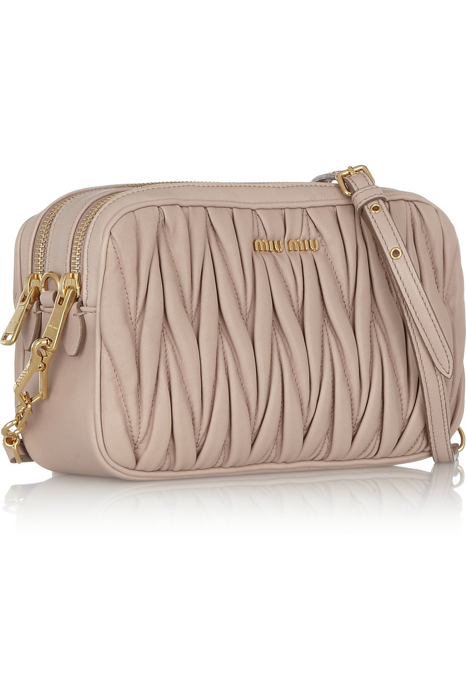 Miu Miu Matelassé Small Shoulder Bag TmLjy