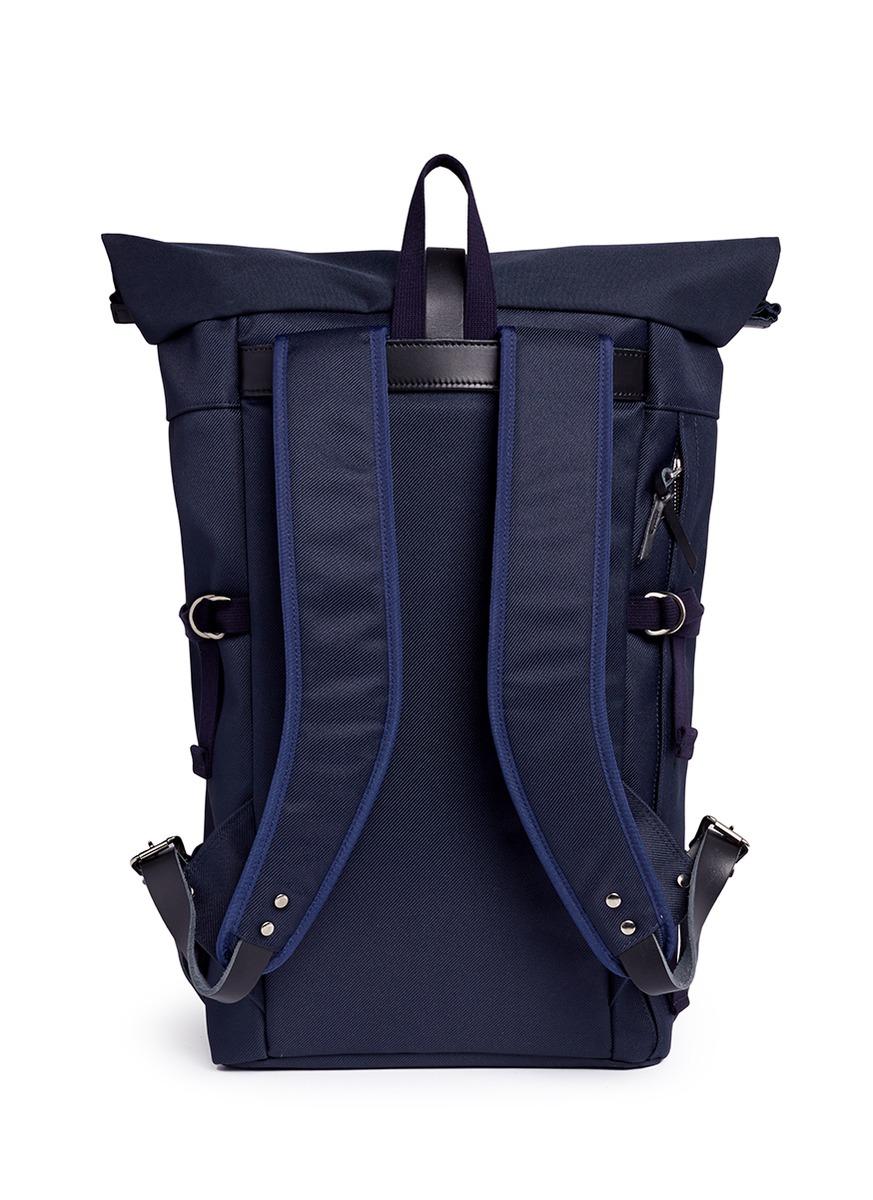 Nanamica Cycling Pack Cordura 174 Nylon Twill Backpack In
