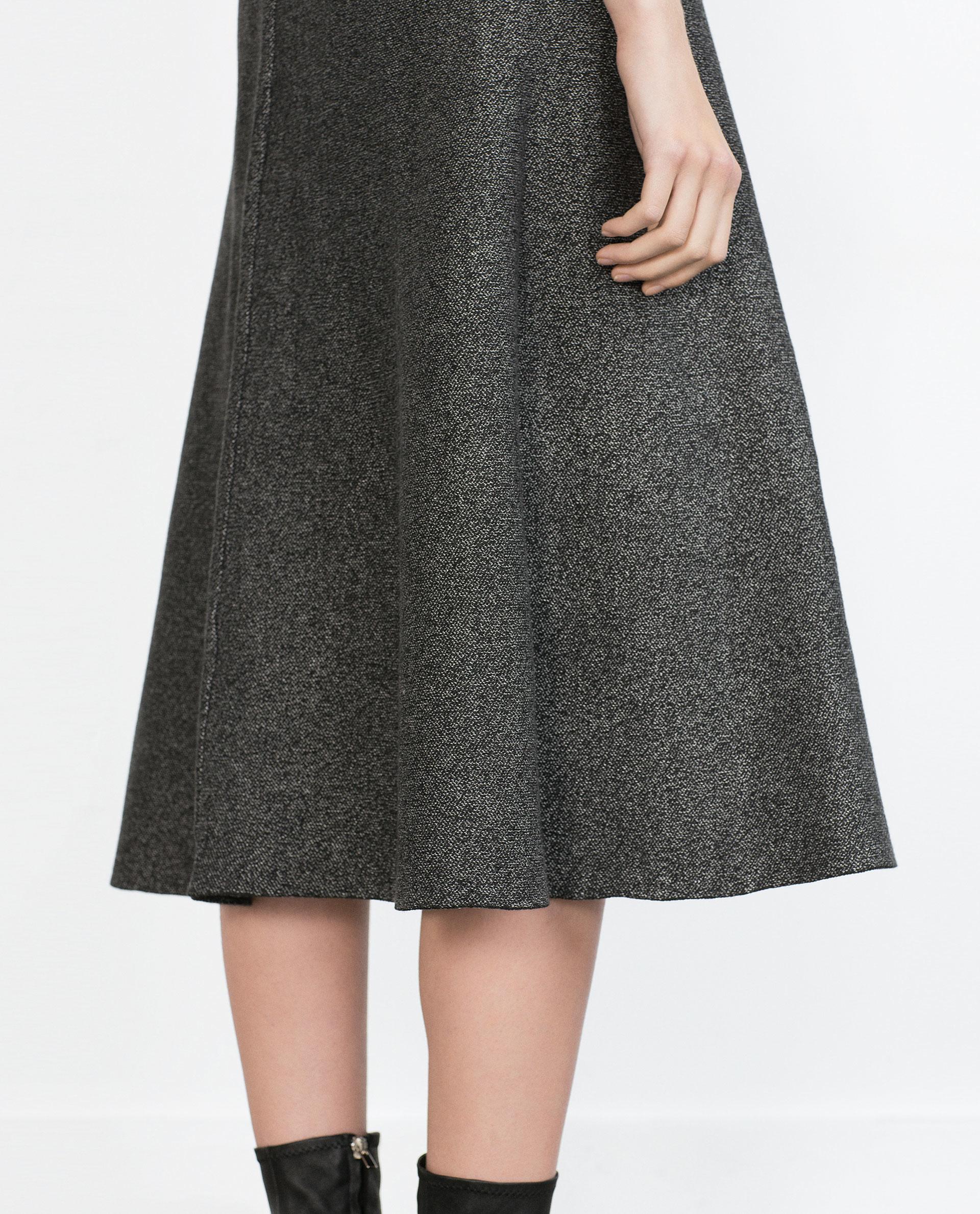 Long A Line Skirt Jill Dress