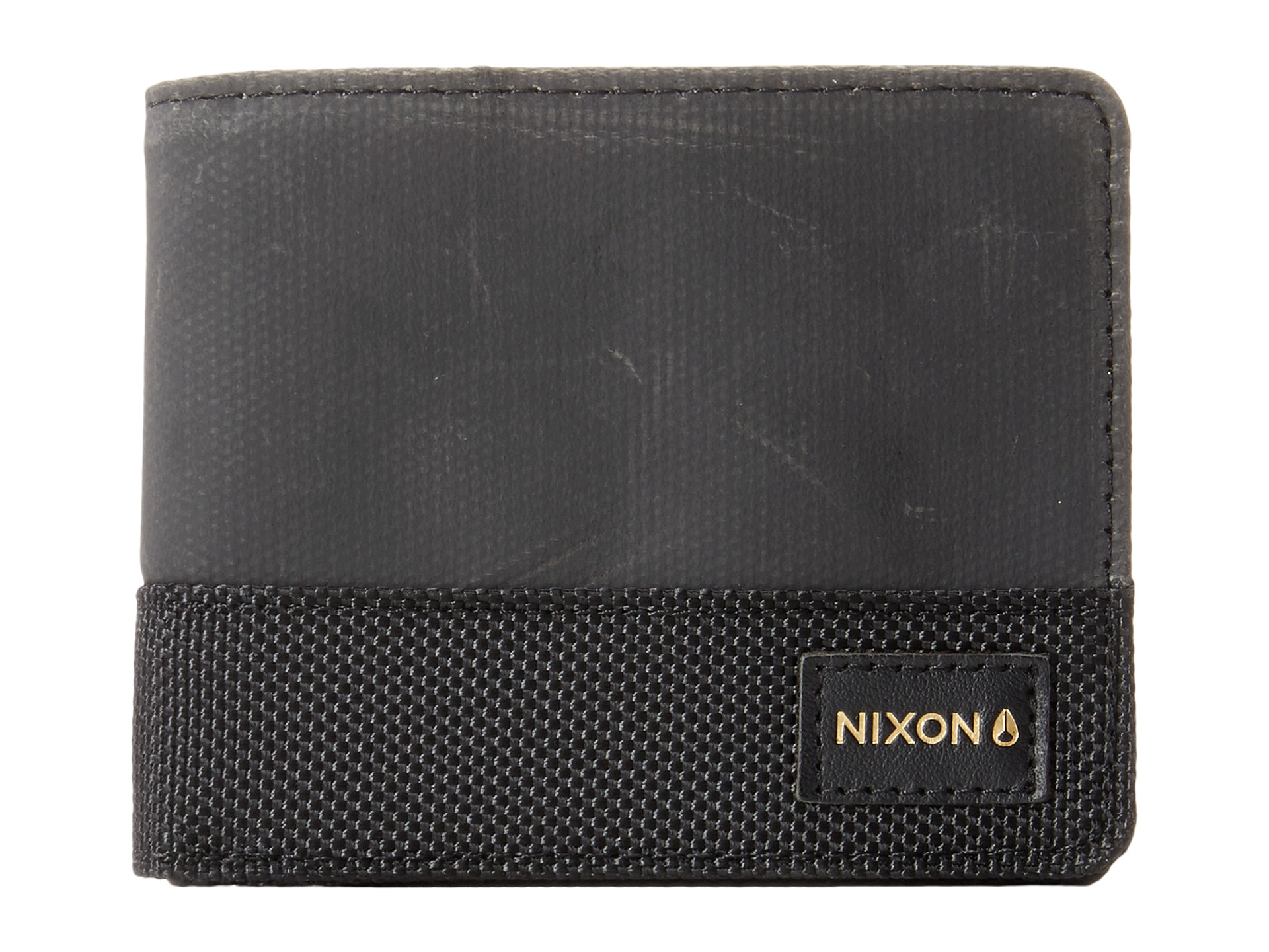Lyst - Nixon Black Origami Arc Bi-fold Coin Purse in Black for Men bb997bf1923