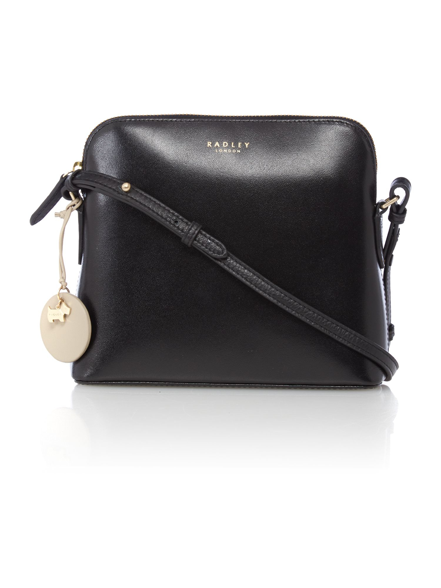 Whether you just need to take a few things to go or you like the convenient size of compact purses, this Small Crossbody Handbag from Mondo is just the bag you'll want. The front pocket unzips and opens up as a wallet, so you won't even need to carry the extra weight of a billfold. With the main.