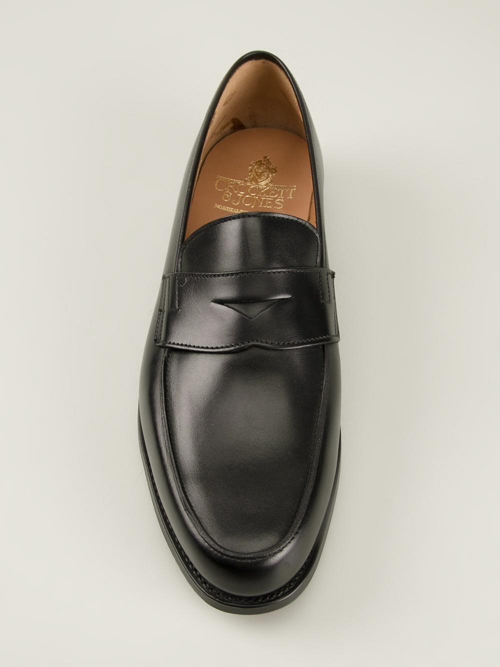 0de725e0a6b Lyst - Crockett and Jones  Poole  Penny Loafers in Black for Men
