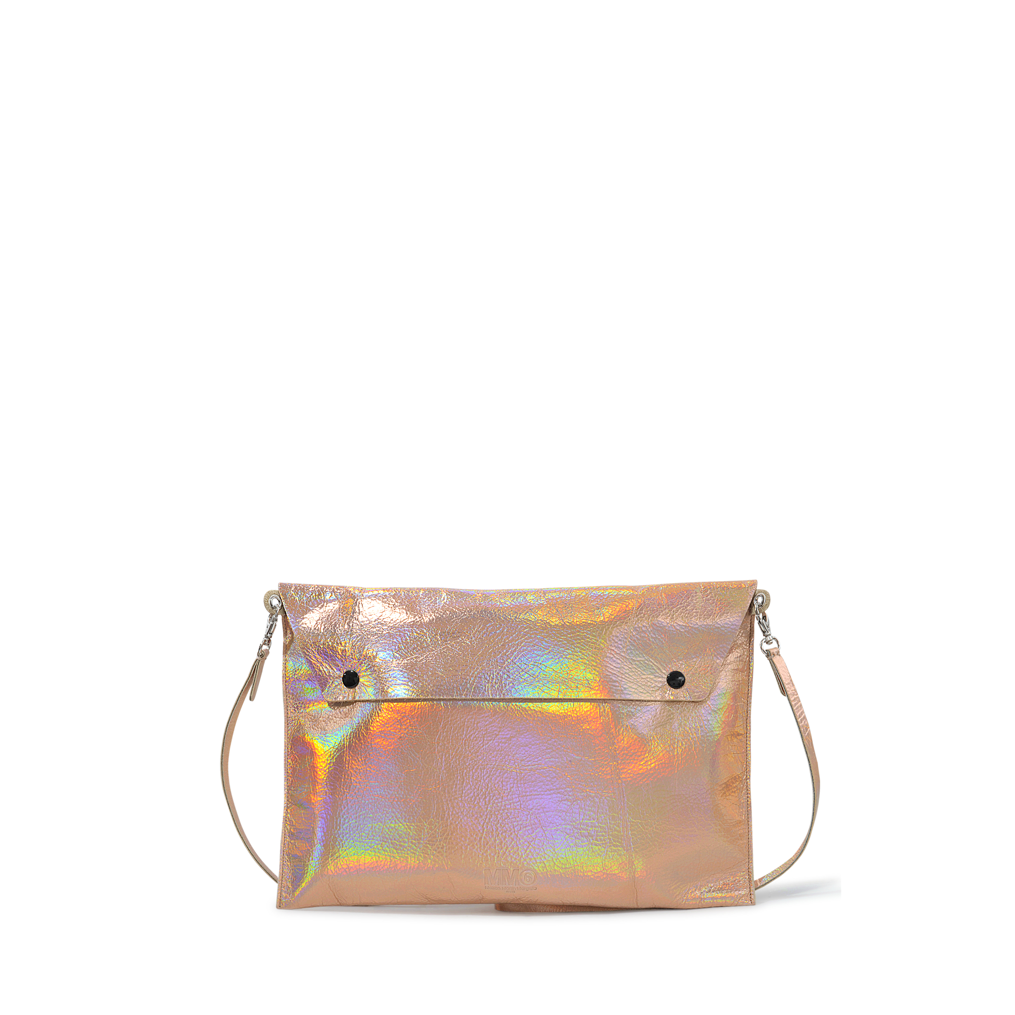 Lyst mm6 by maison martin margiela clutch in pink for Mm6 maison margiela