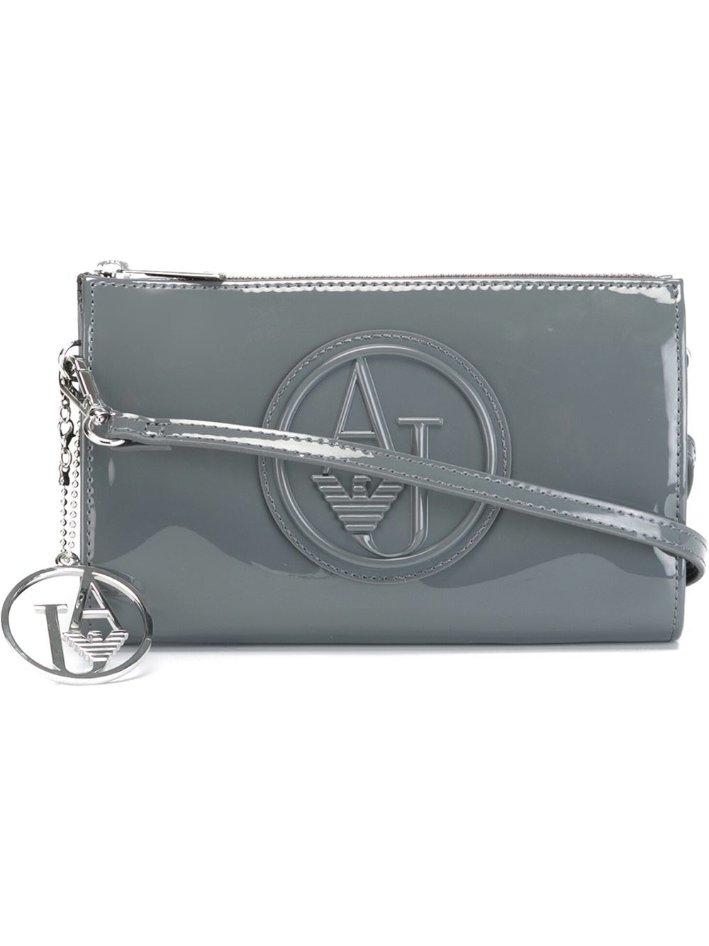 Lyst - Armani Jeans Mini Crossbody Bag With Logo in Blue a63c461c7b7