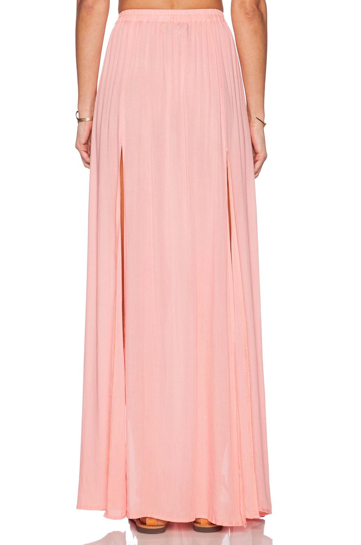 aila blue pupukea maxi skirt in pink lyst