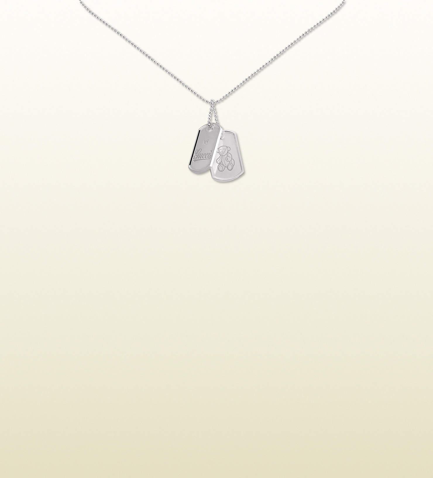 6e20726d7 Lyst - Gucci Necklace in Metallic
