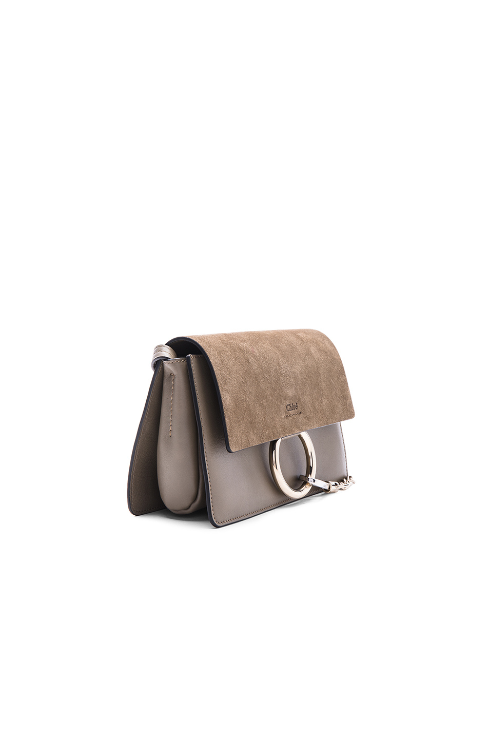chole bags - faye small bag in diamond embossed smooth calfskin