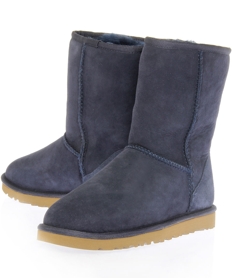 ugg navy classic short boots