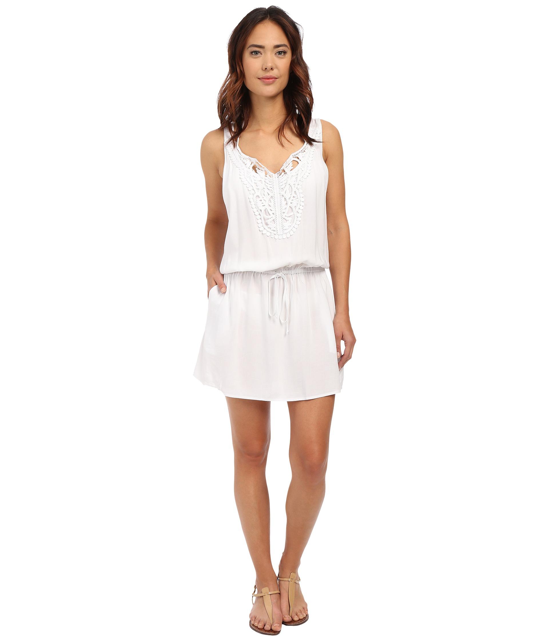 82c9ecd6d8f2a Body Glove Rosie Cover-up Dress in White - Lyst