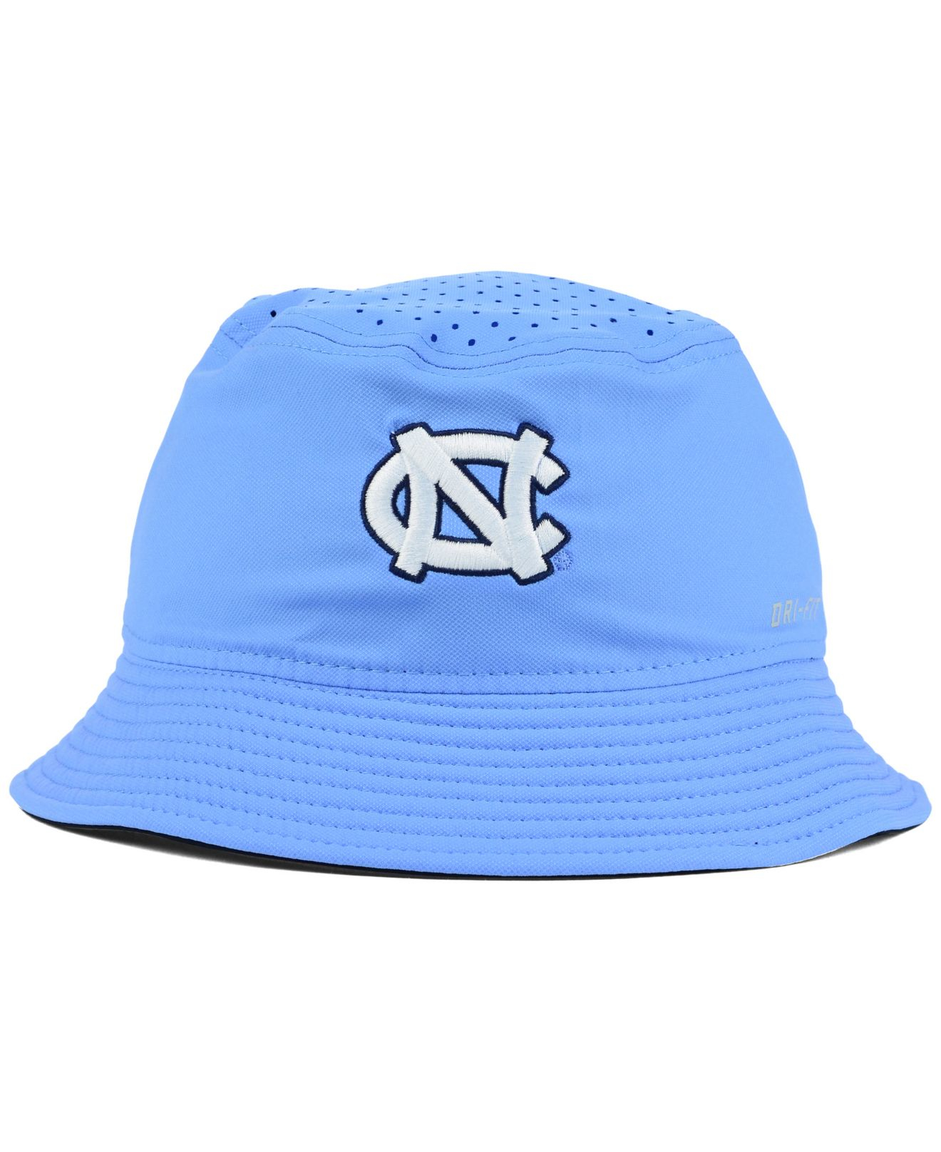 f652c9c4c23 ... usa lyst nike north carolina tar heels vapor bucket hat in blue for men  e24b2 ca61f