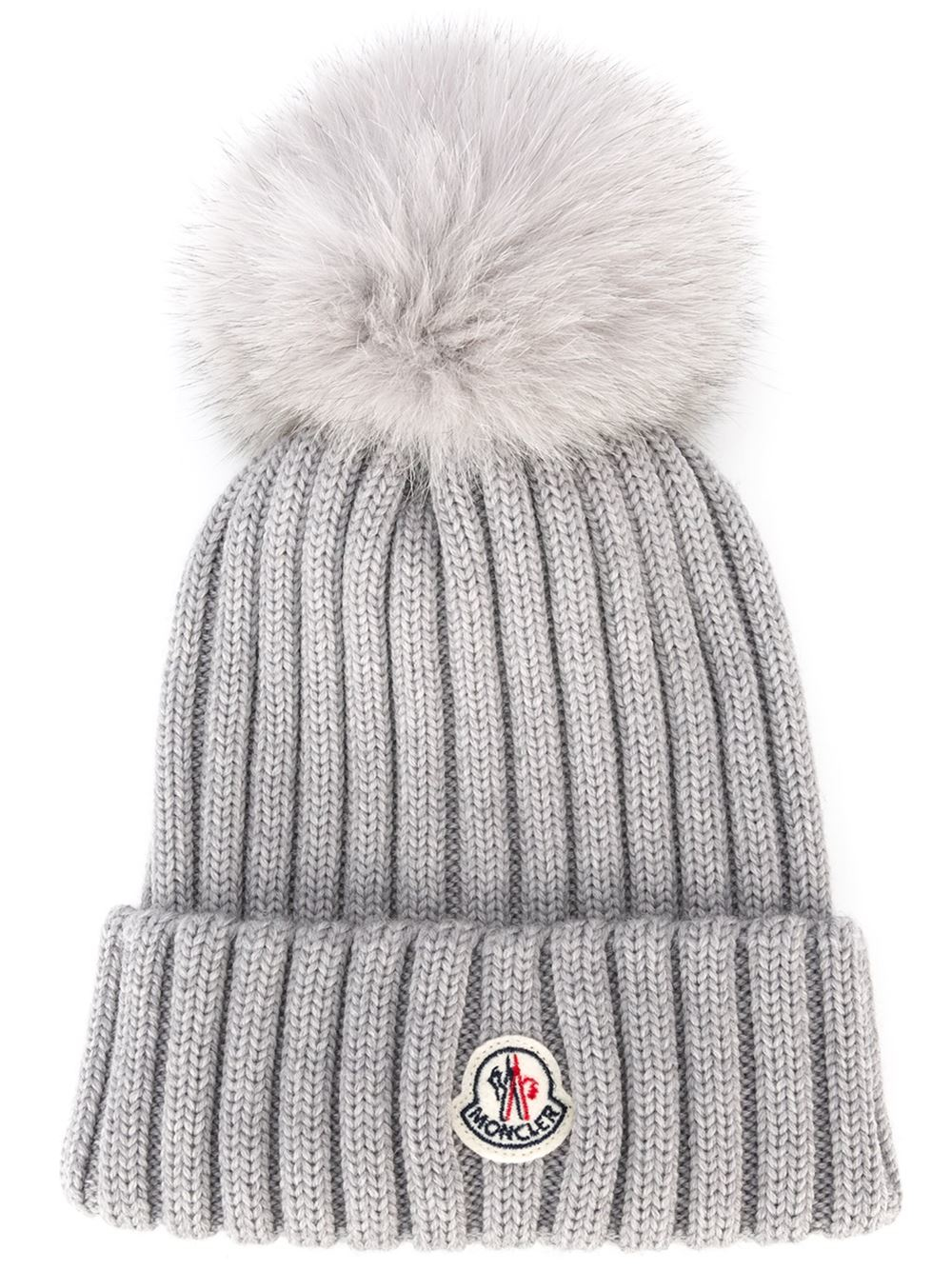 mens moncler bobble hat