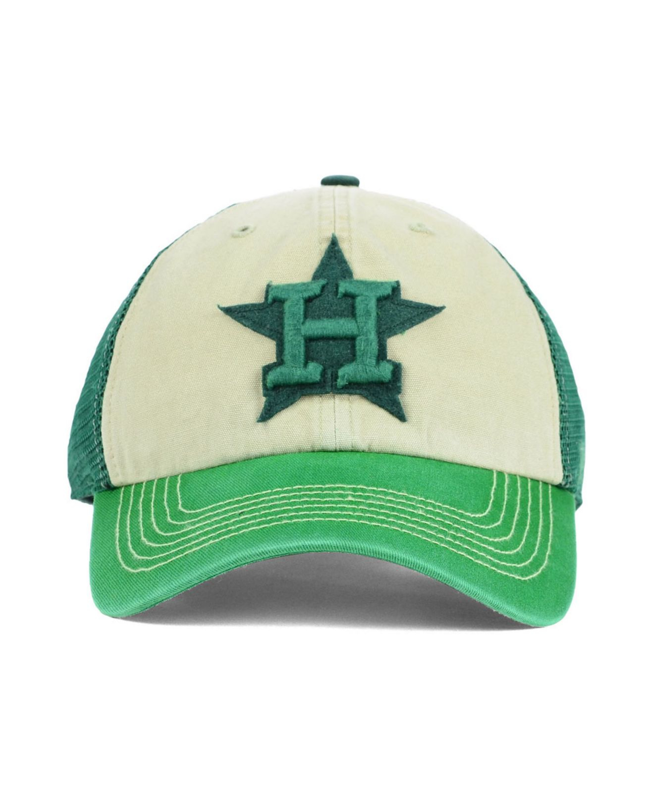 huge selection of dab28 2df55 47 Brand Houston Astros Mcnally Clean Up Cap in Green for Men - Lyst