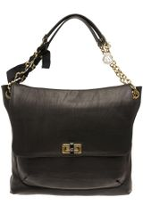 Lanvin Happy Large Shoulder Bag - Lyst