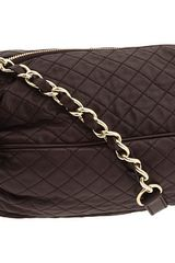 D&G Quilted leather shoulder bag - Lyst