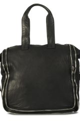 Alexander Wang Trudy Leather Tote - Lyst