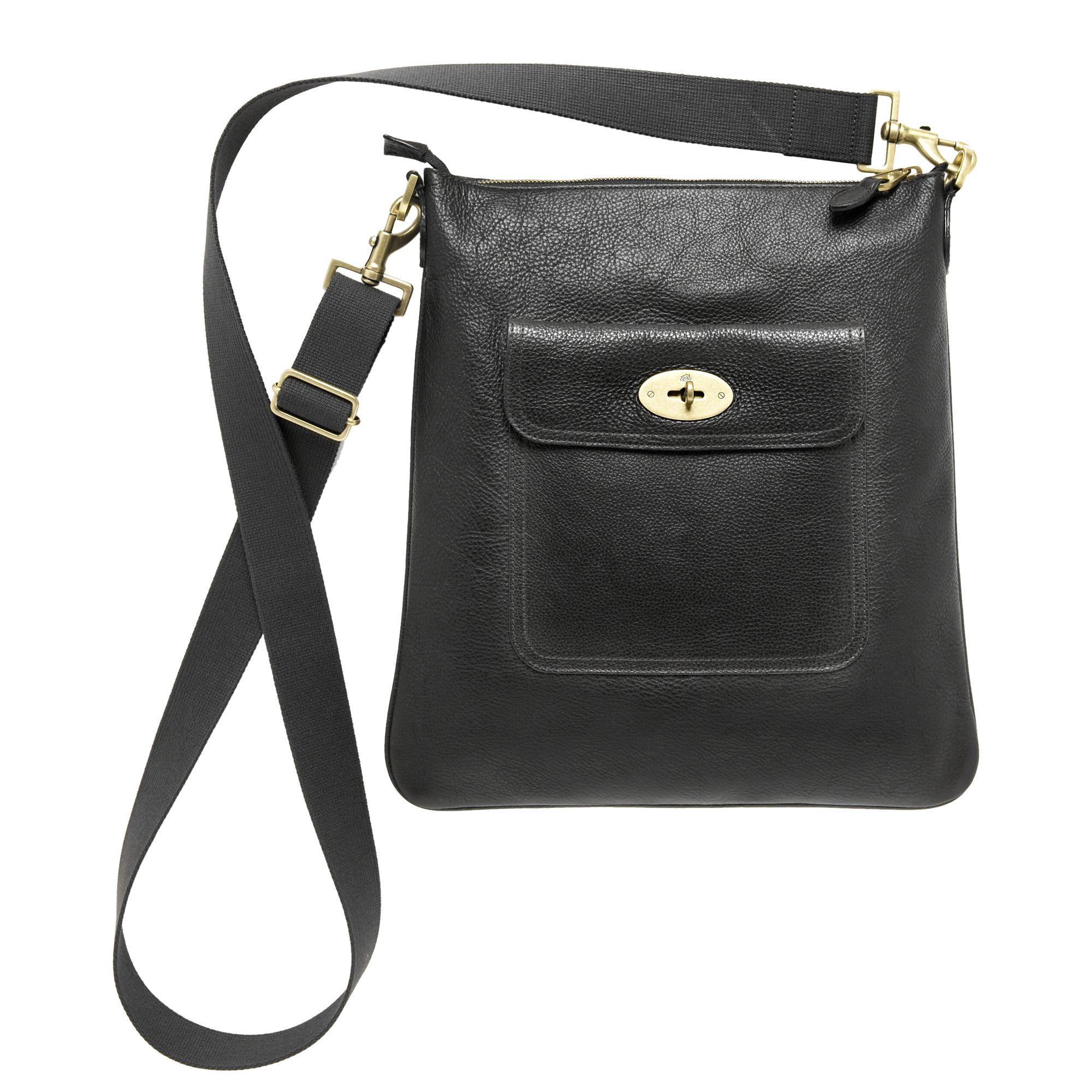 5ca67e8c97 ... buy mulberry seth messenger bag in black lyst 36272 855b0