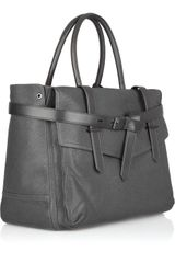 Reed Krakoff Boxer Ii Grain Leather Tote in Gray - Lyst