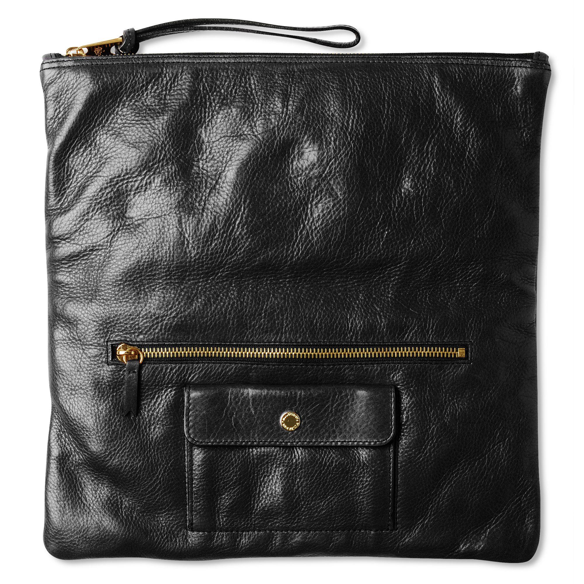 7fd6fac2fffa ... amazon mulberry daria clutch bag in black lyst 8fc91 7cb49